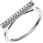 Damen Ring 925 Sterling Silber 35 Zirkonia
